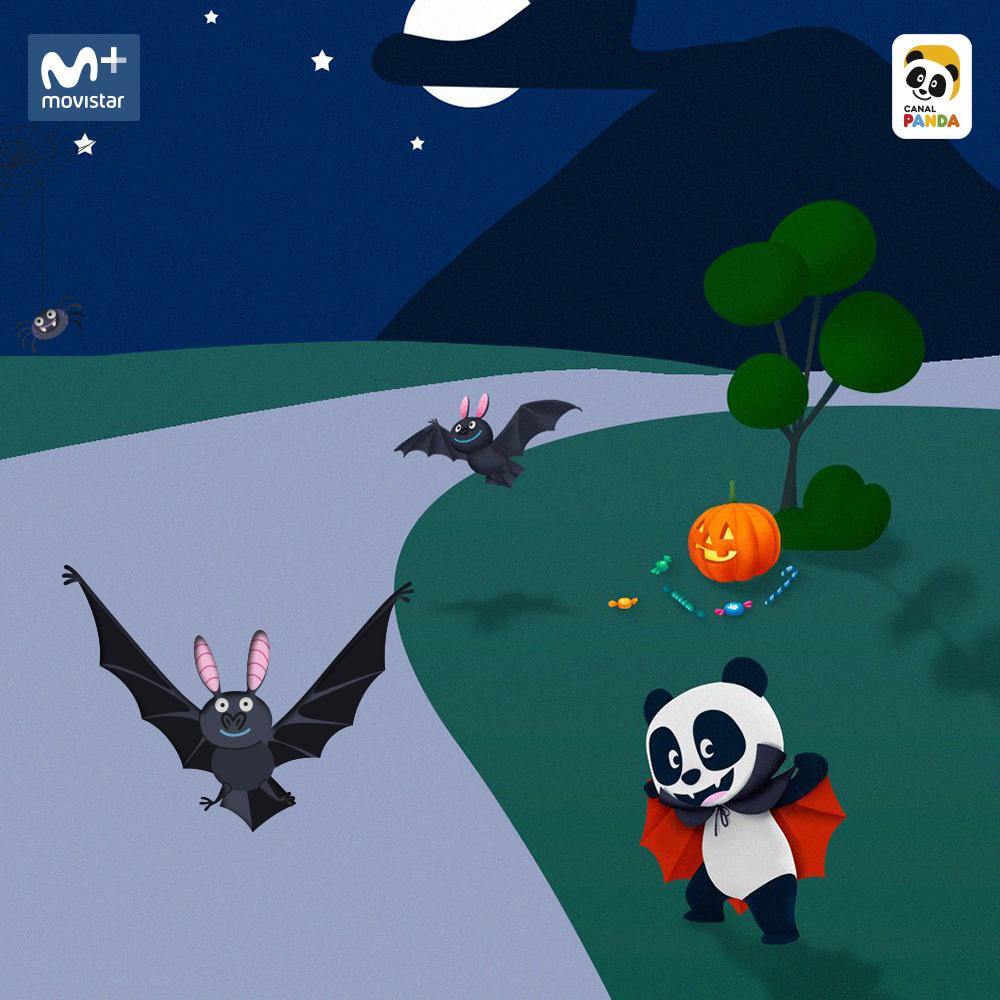 Halloween Canal Panda - Movistar Gran Vía 28